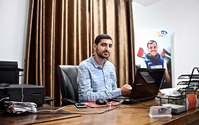 Gaza-journalist