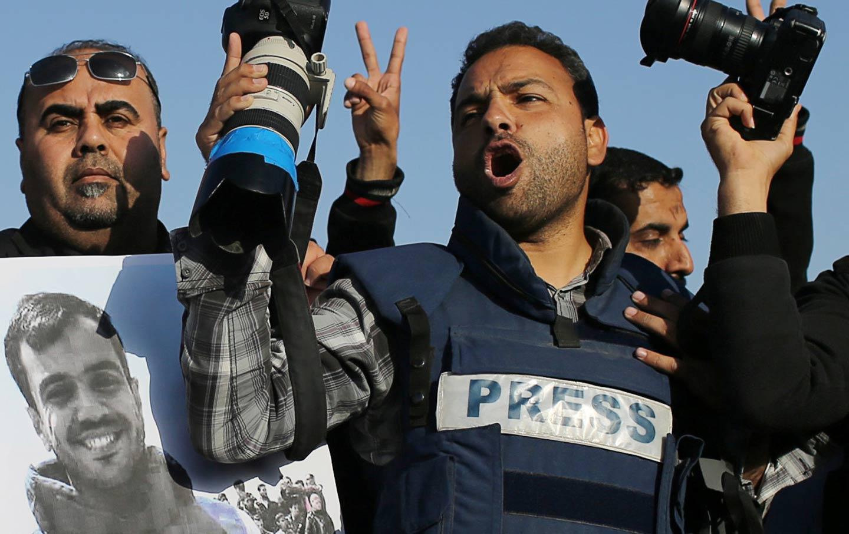 Gaza-journalists