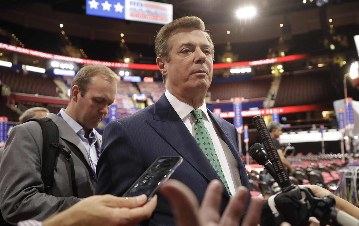 Paul Manafort, Rick Gates