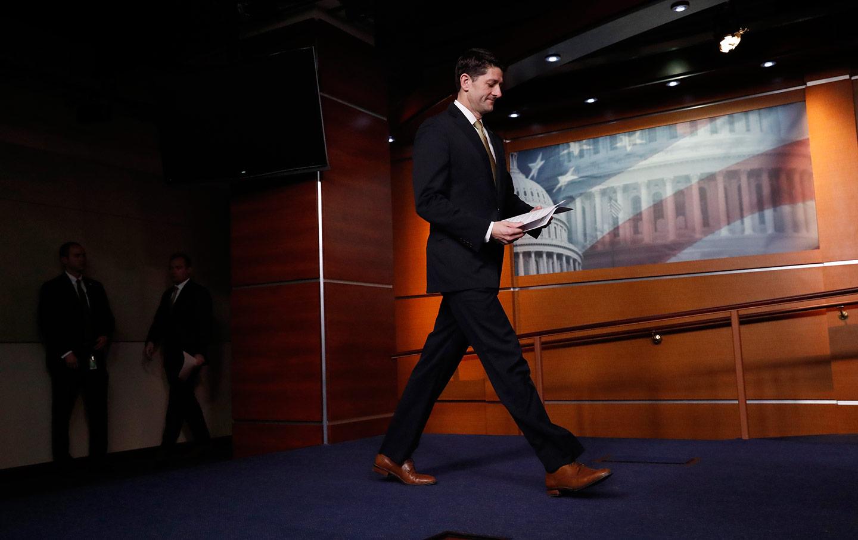 Paul Ryan Exit