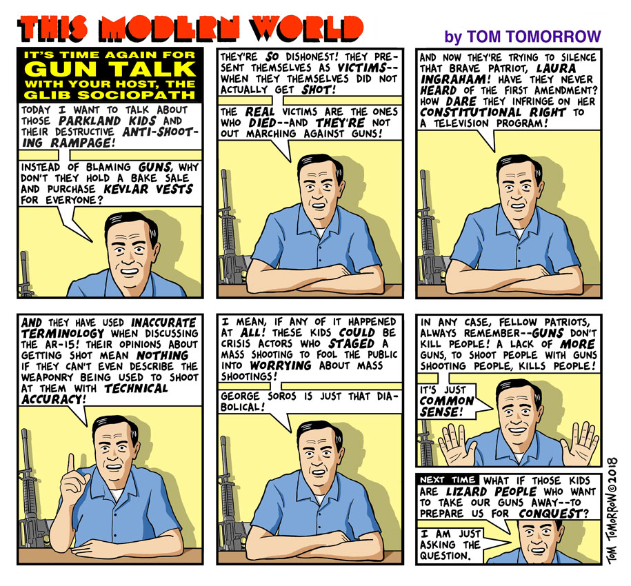 Tom Tomorrow cartoon.