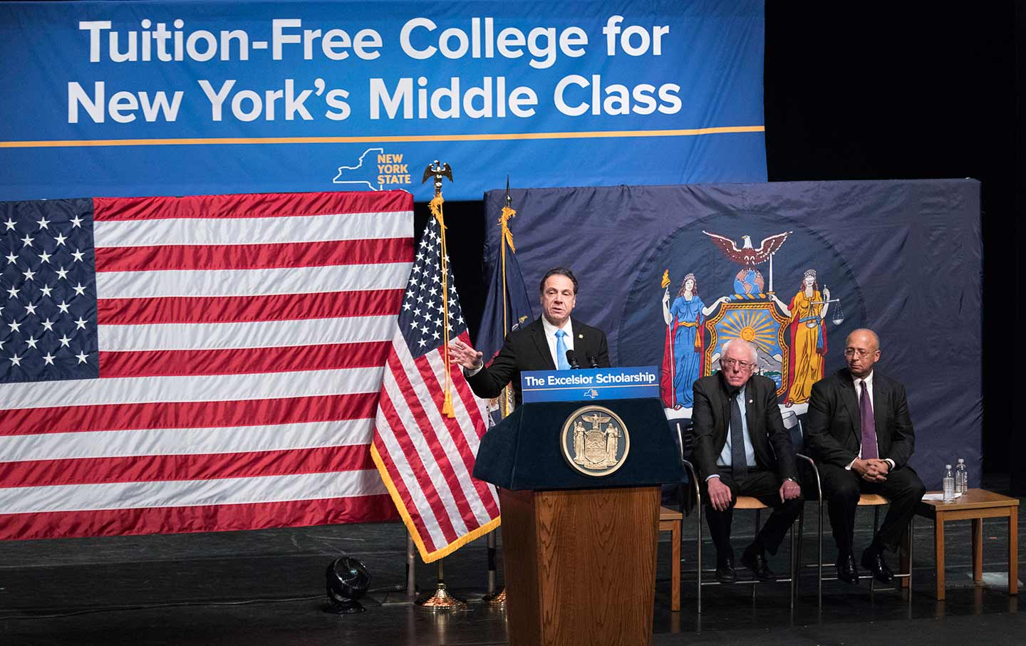 Andrew Cuomo announces free college tuition