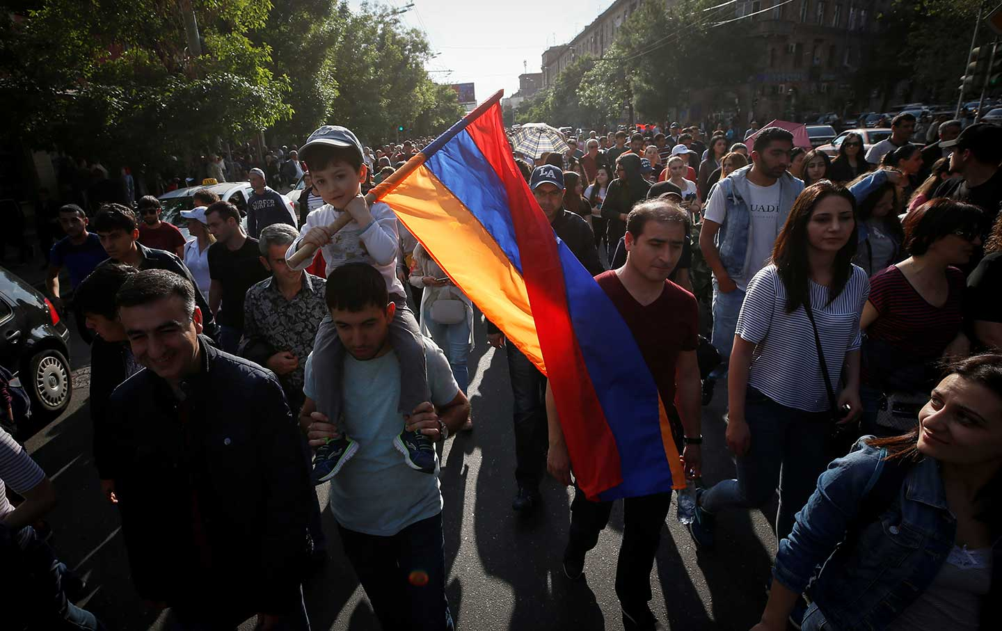 the significance of armenia s april revolution the nation