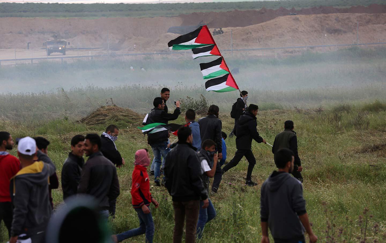 Palestinians on Land Day