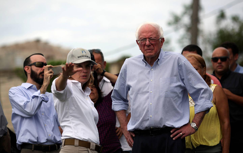 Bernie Sanders Puerto Rico