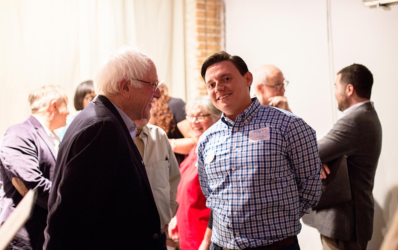 Bernie-Sanders-Rick-Trevino-Texas