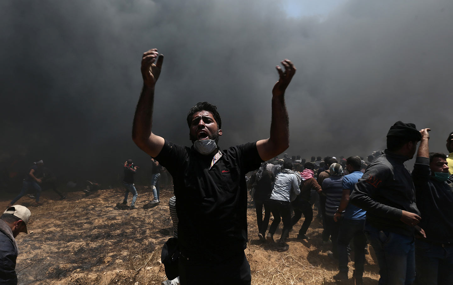 The nation listen a new embassy in jerusalem an old struggle in gaza fandeluxe Image collections