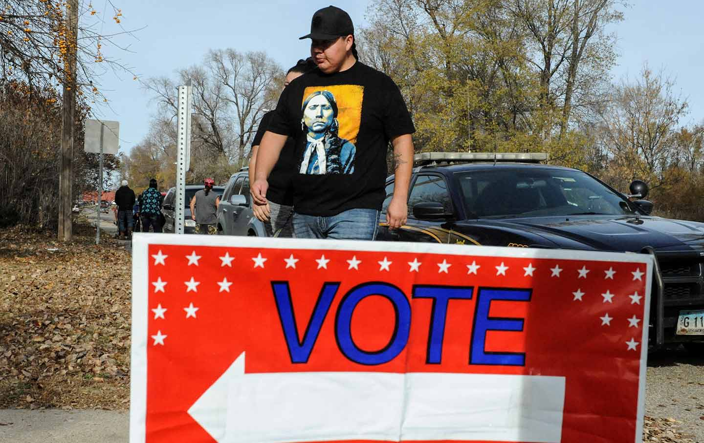 North Dakota voter