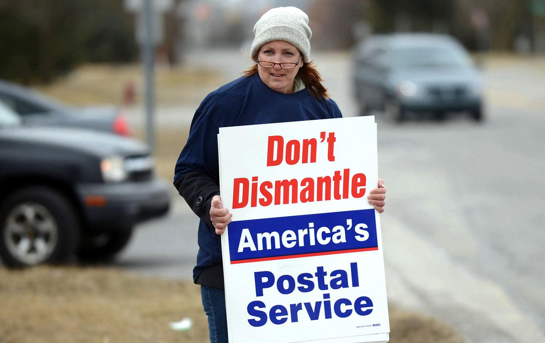Postal Service Protest