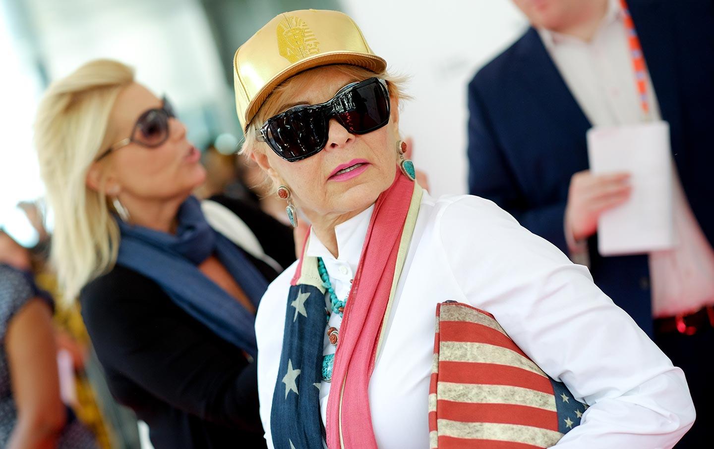 Roseanne Barr 2015 Tribeca Film Festival