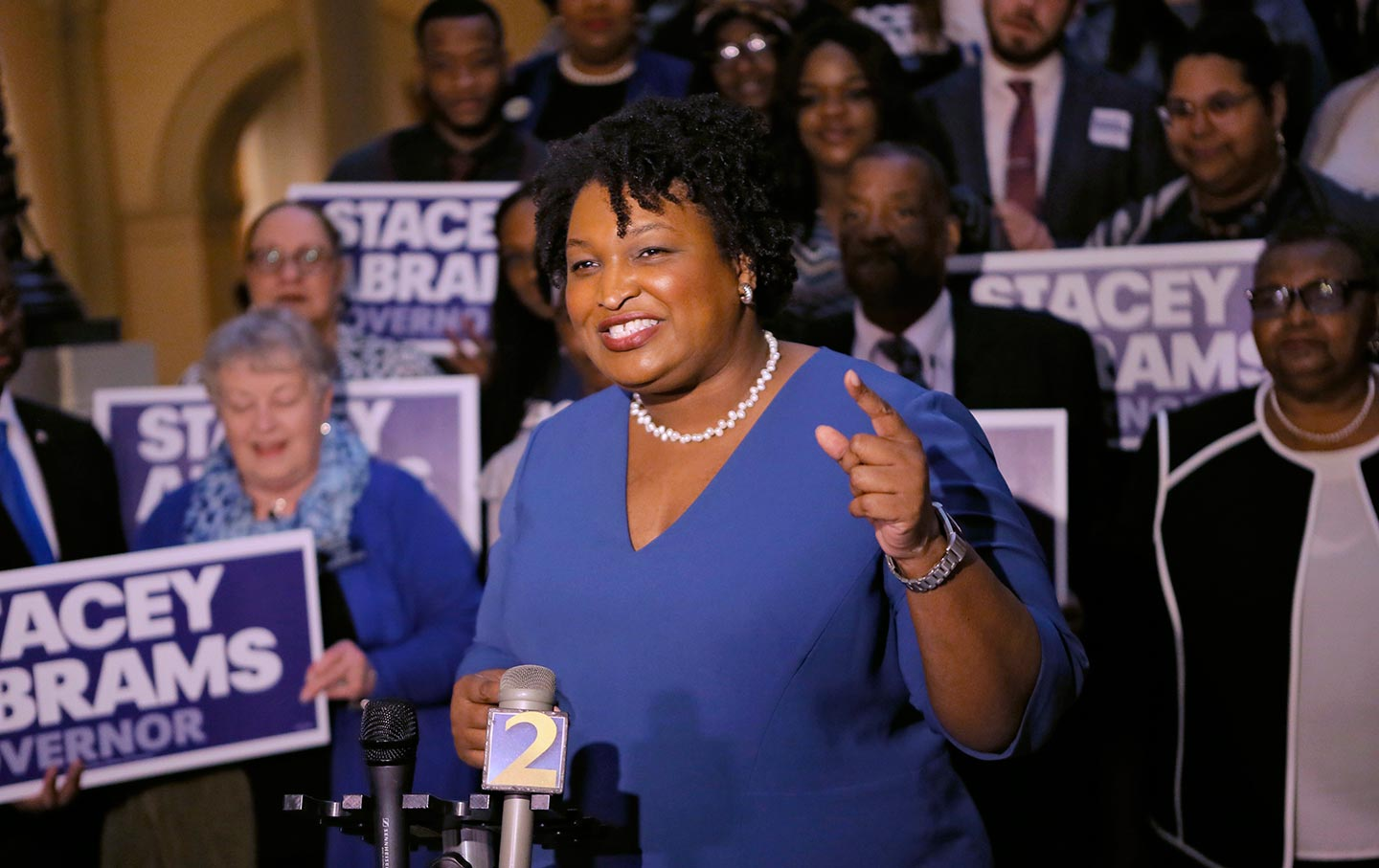 Stacey Abrams Georgia governor's race