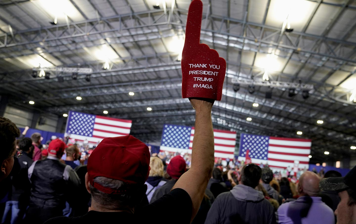 Trump Rally Supporters