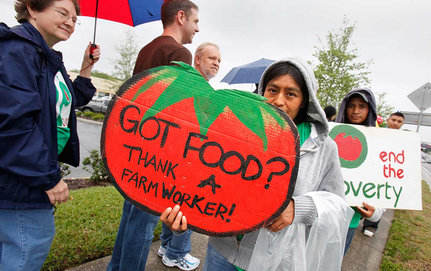 Coalition of Immokalee Workers protest
