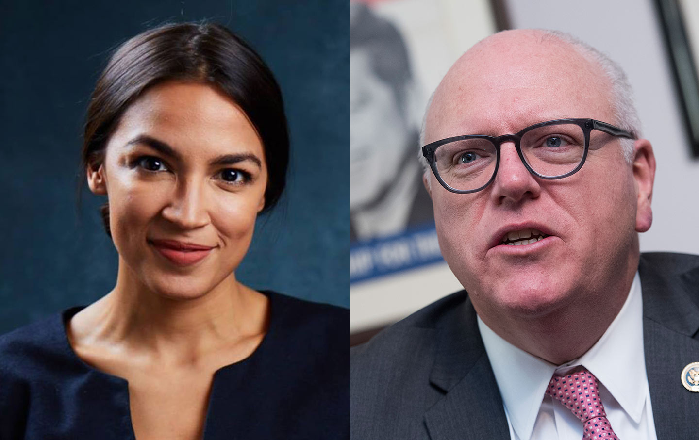 Image result for Free images of Alexandria Ocasio-Cortez vs. Joe Crowley