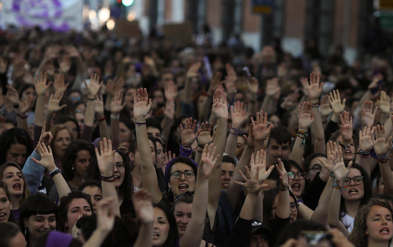 Spain La Manada protest