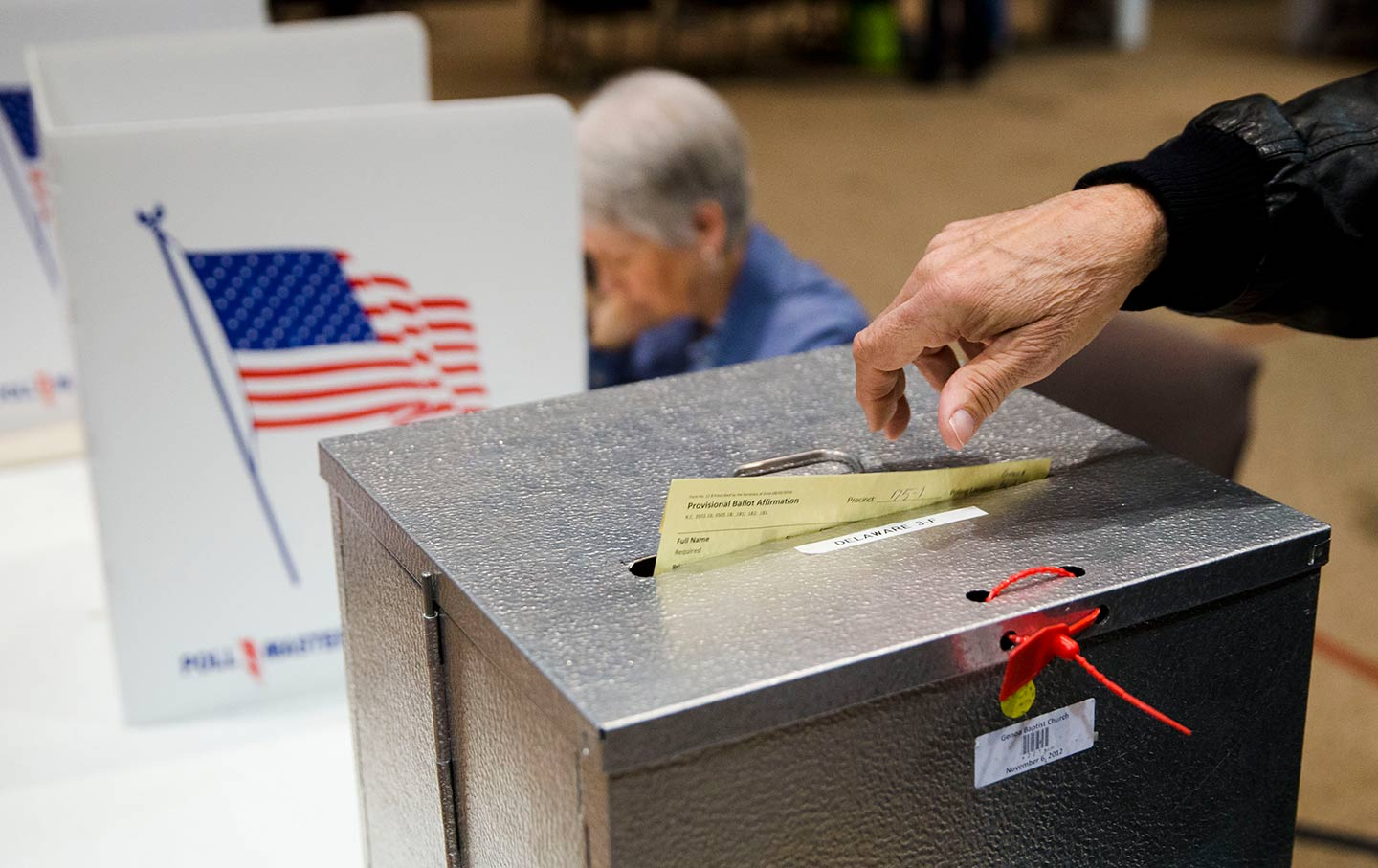 Voting ballot box