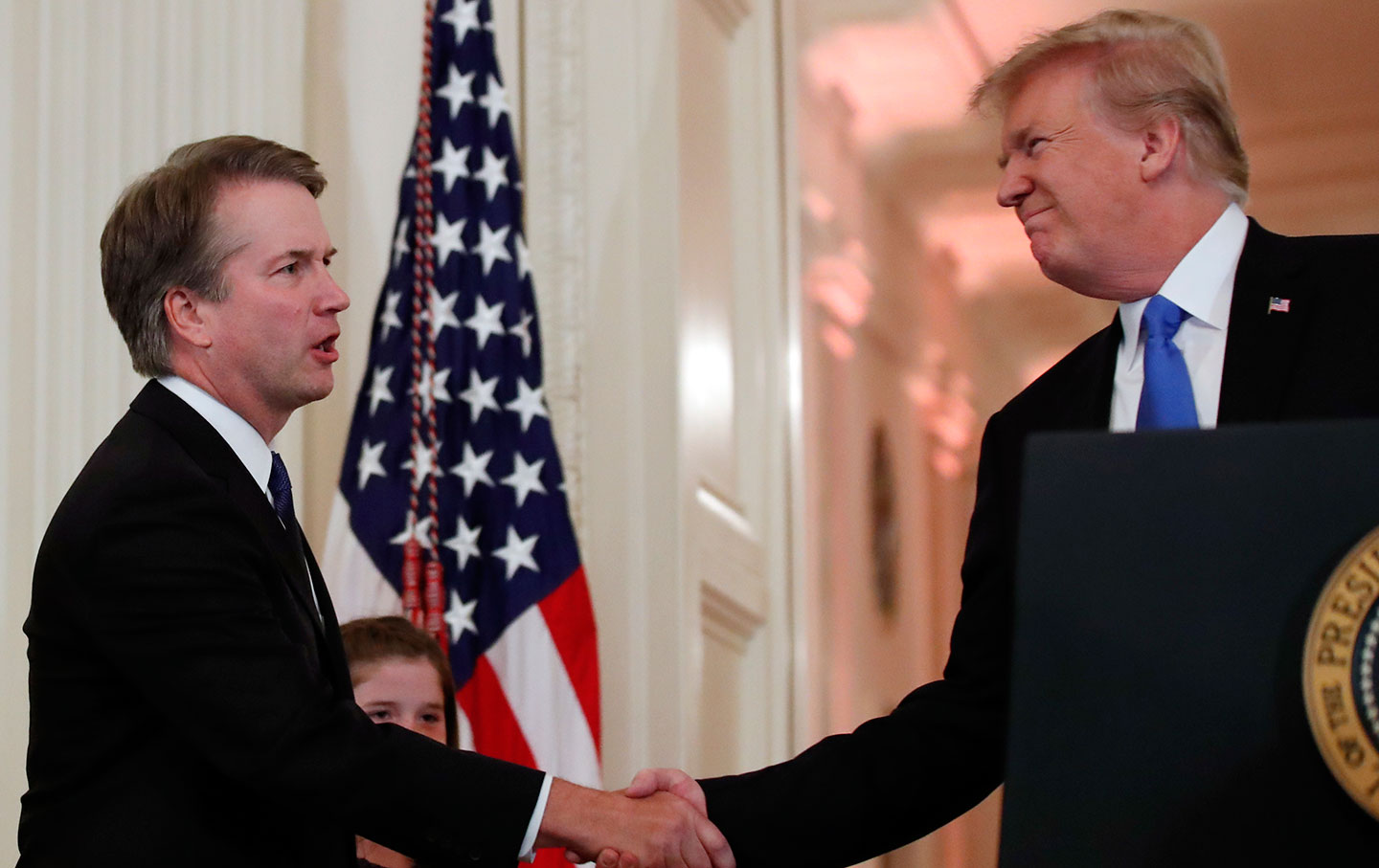 Brett Kavanaugh and Donald Trump