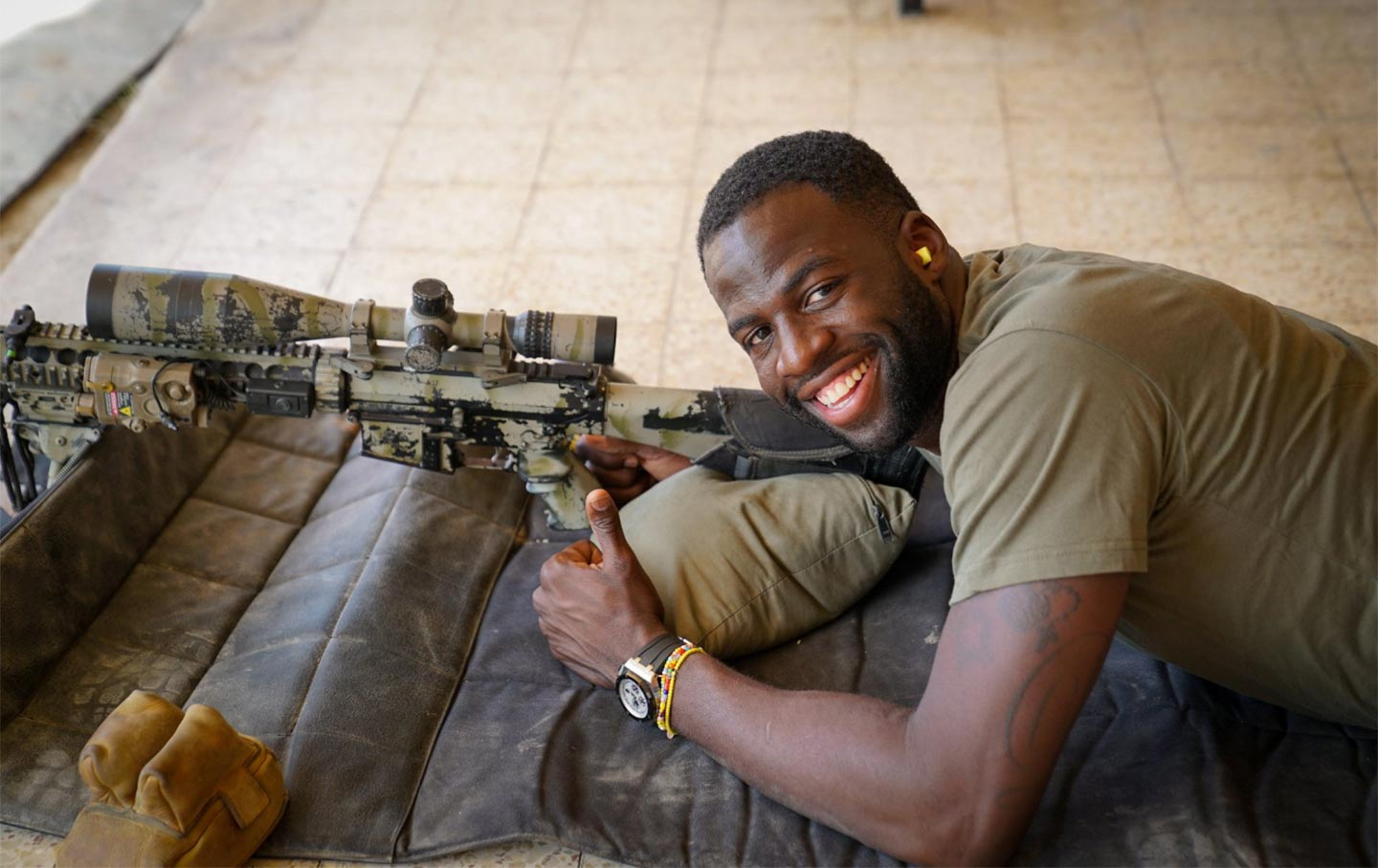 On Draymond Green's 'Friends of the IDF' Sponsored Trip to Israel