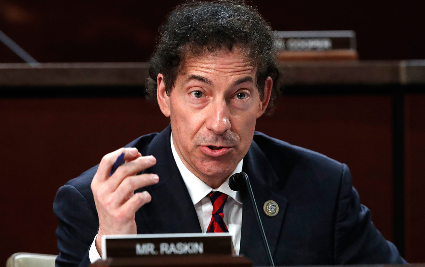 Jamie Raskin at a House Committee on the Judiciary and House Committee on Oversight and Government Reform hearing