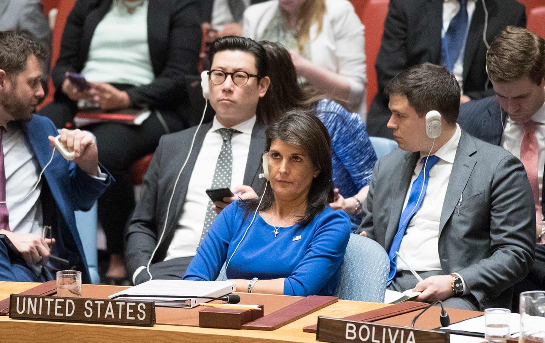Nikki Haley at United Nations