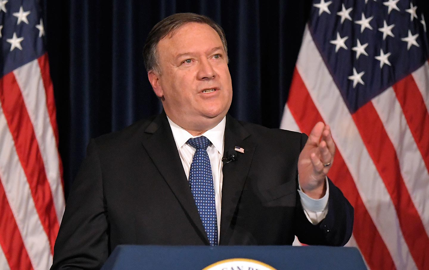 Pompeo Iran Speech