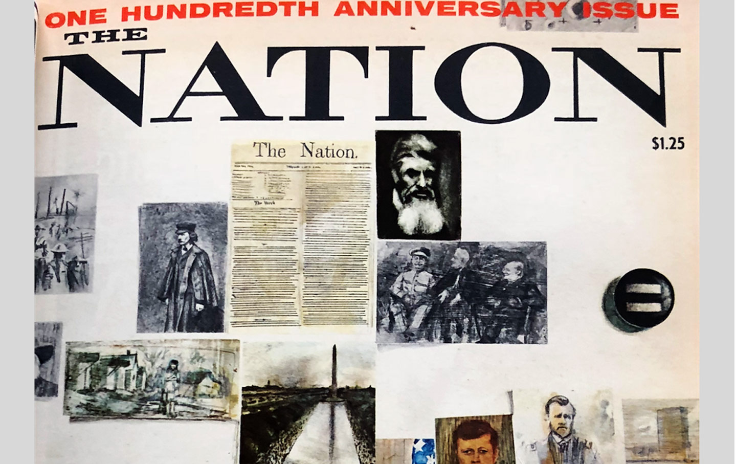 The Nation 100th Anniversary cover