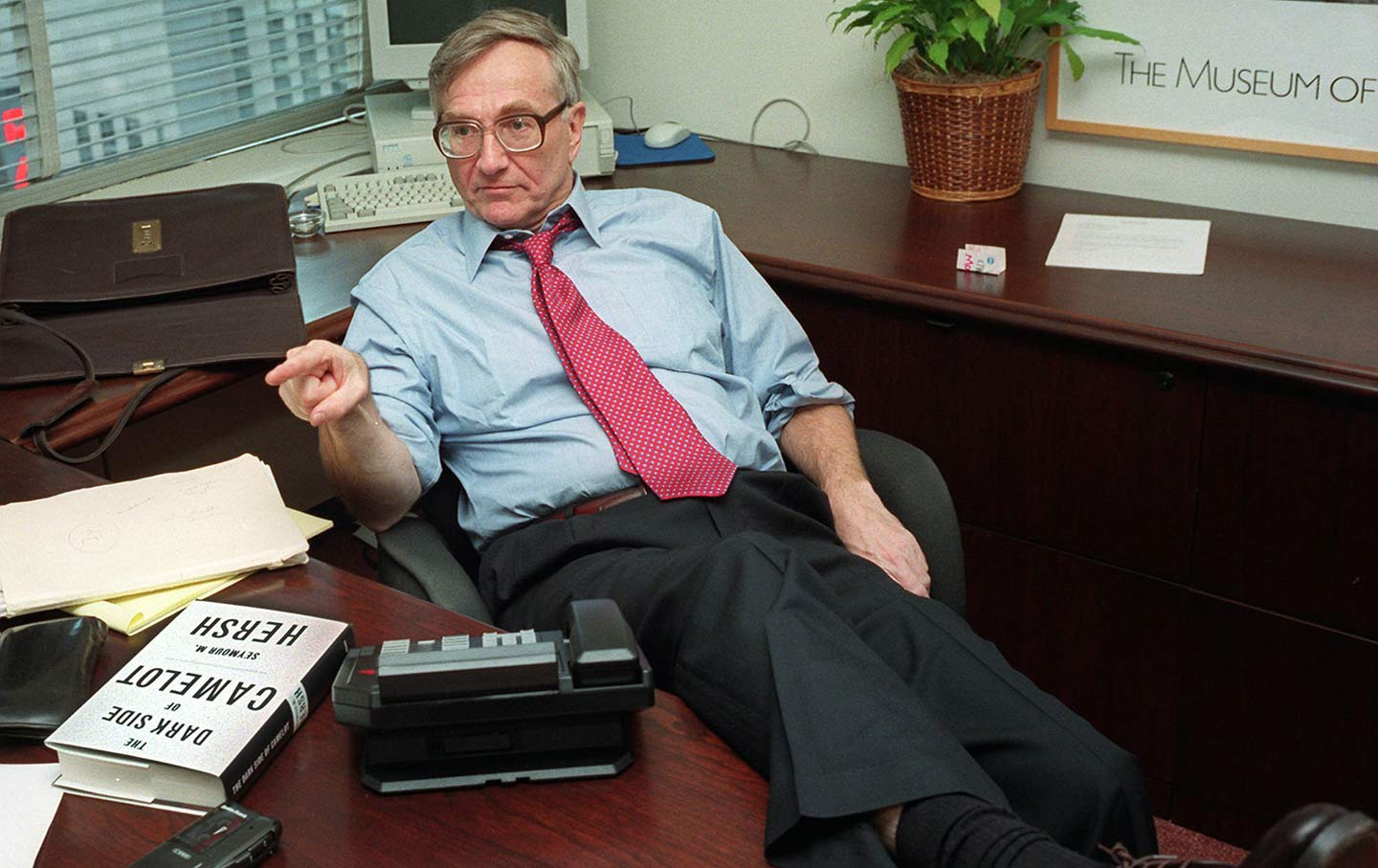 Seymour Hersh with The Dark Side of Camelot