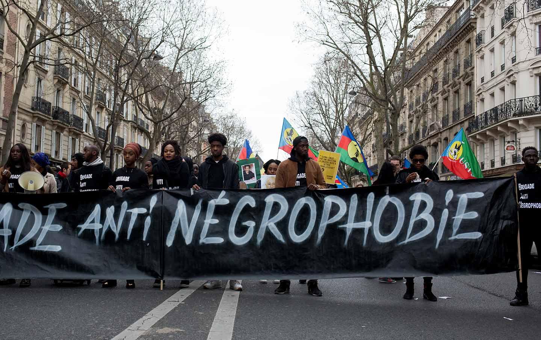 France Protest Racism