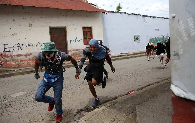 Nicaraguan Demonstrators