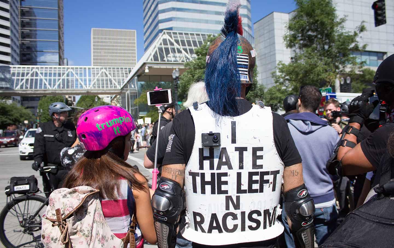 Portland Far Right Rally