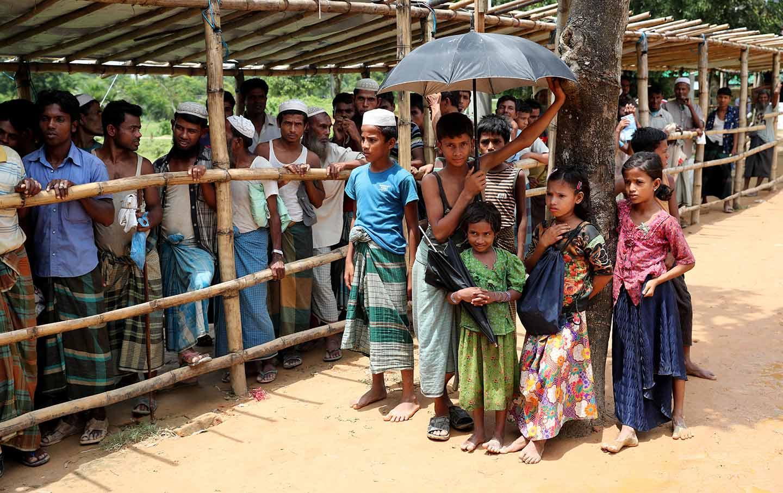Rohingya Children Camp