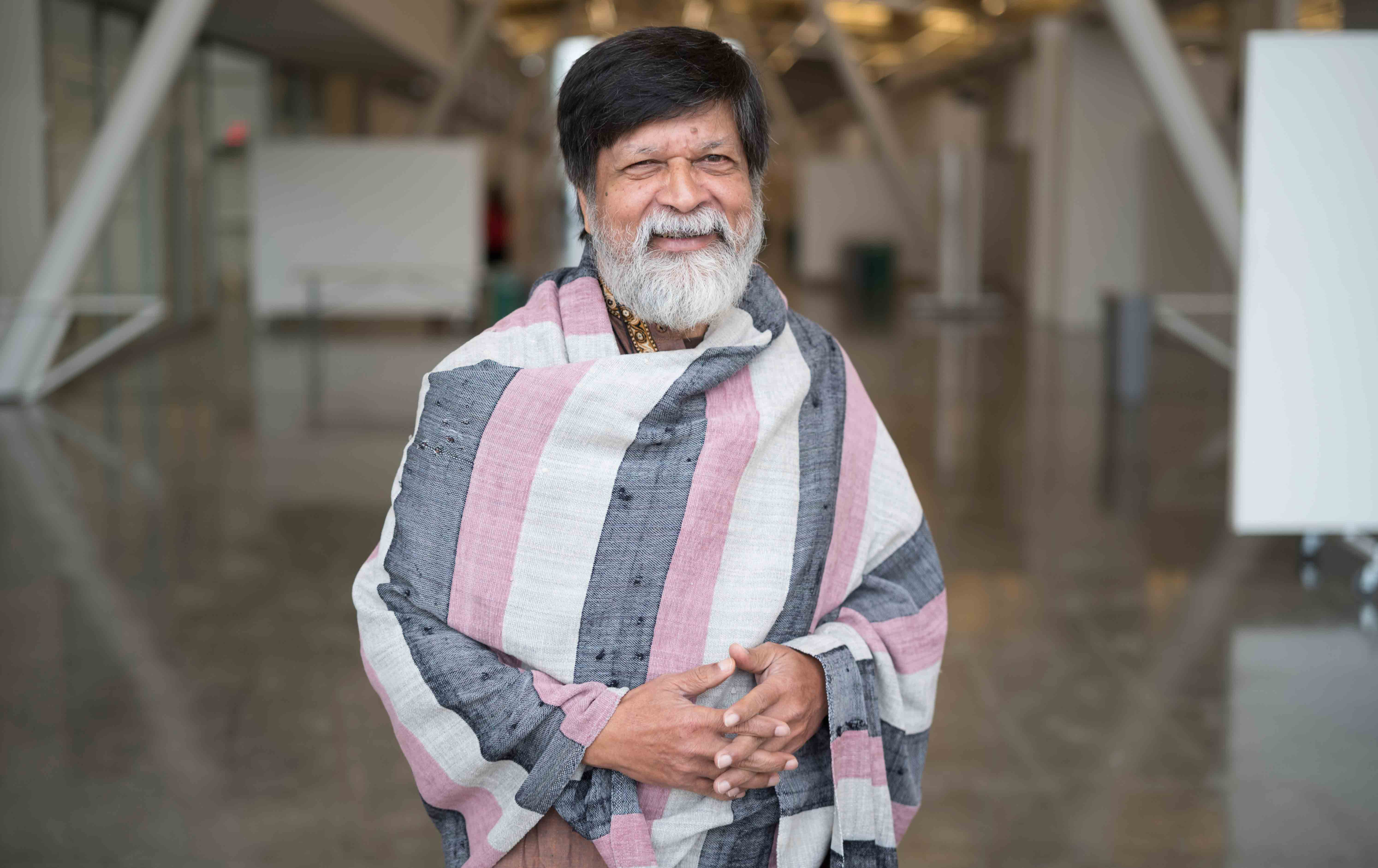 Portrait of Shahidul Alam