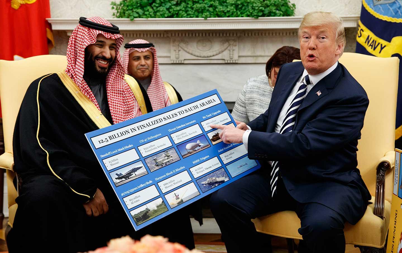 Trump Saudi Arms Deal