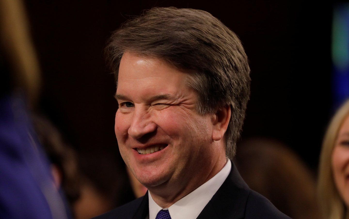 Image result for Kavanaugh sworn in meme