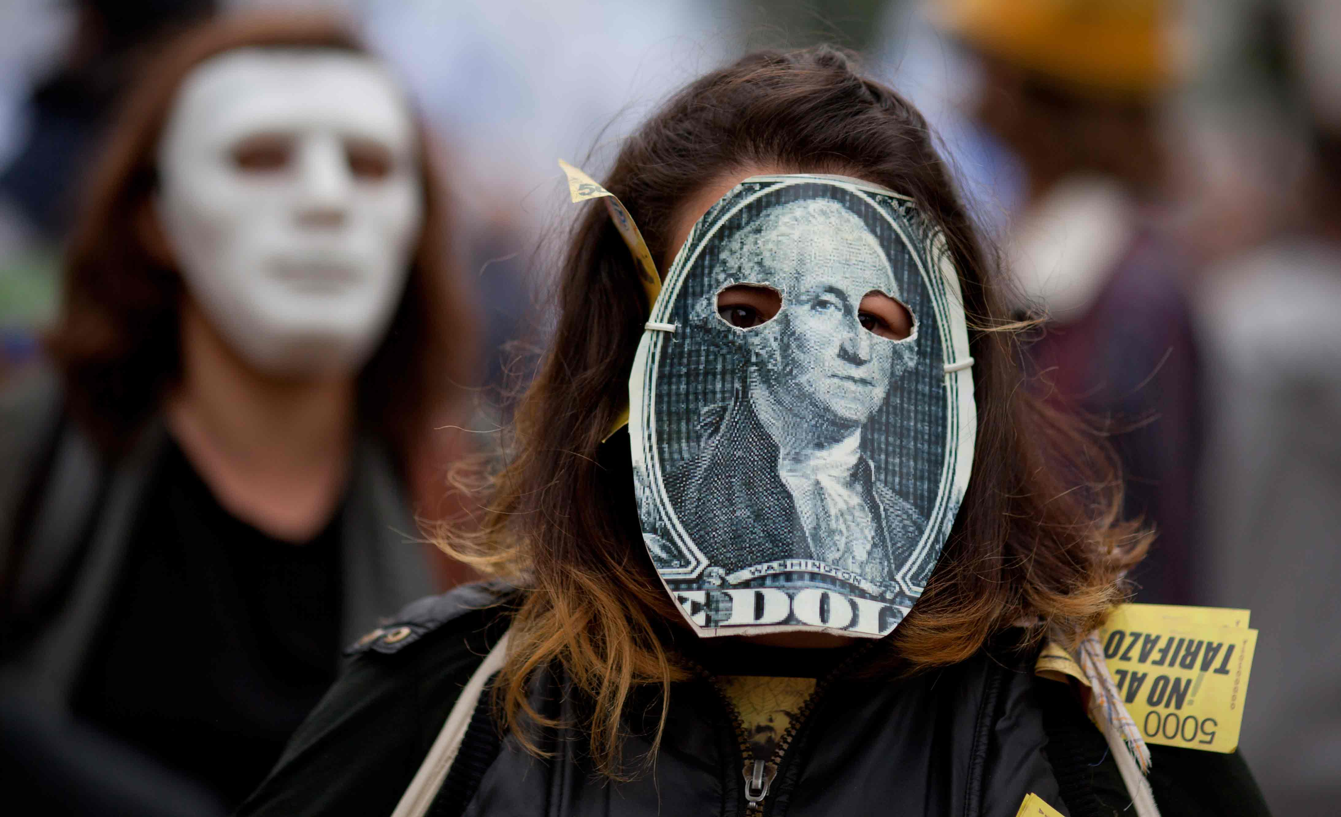 Protest Against IMF in Argentina