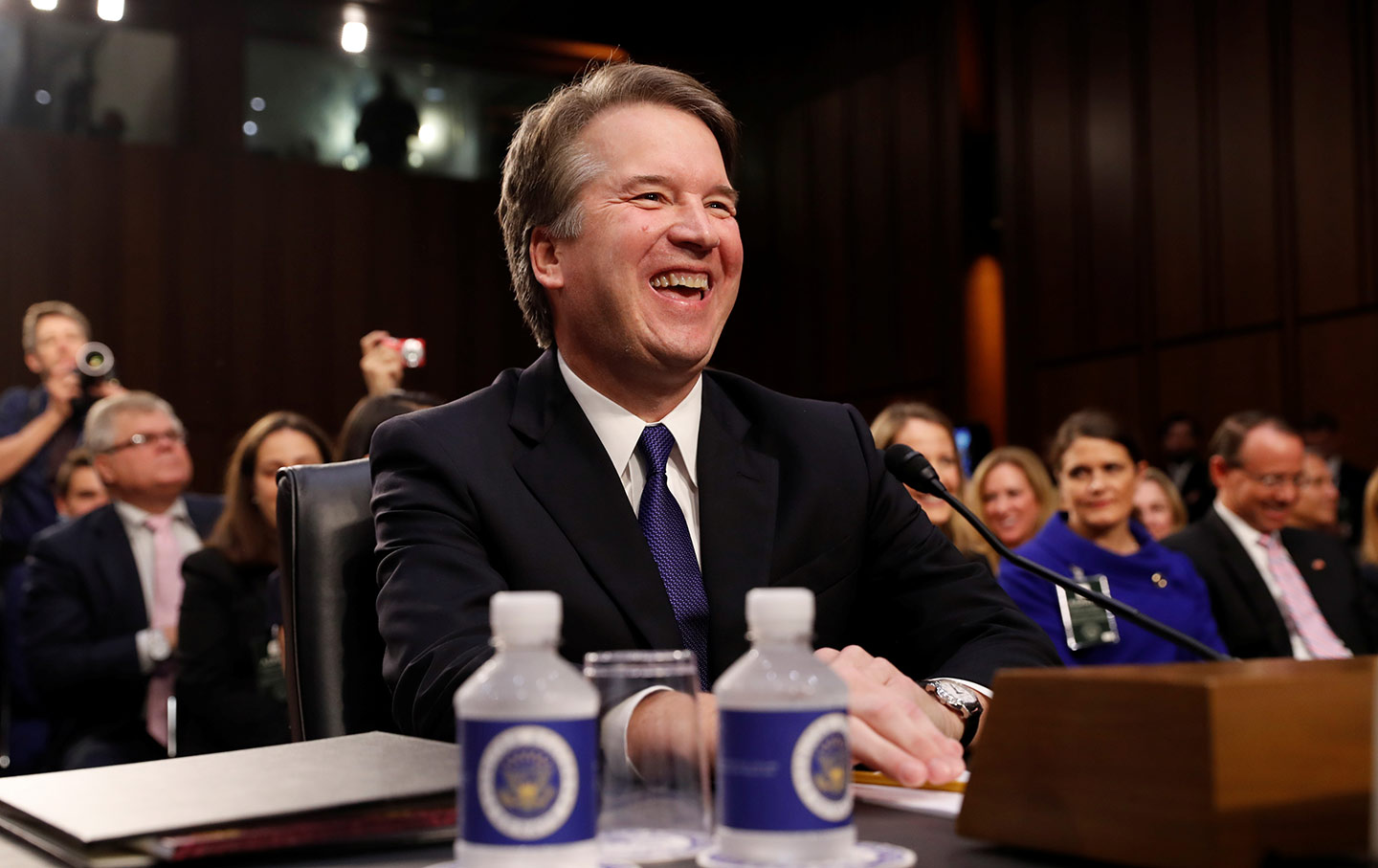 Brett Kavanaugh Laughing