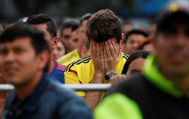 Colombia fan World Cup