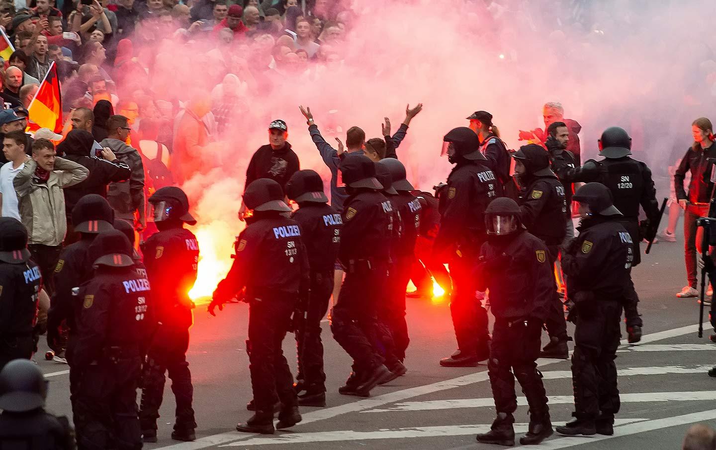 Germany Far Right Rally