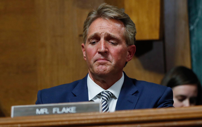 Jeff Flake Judiciary vote
