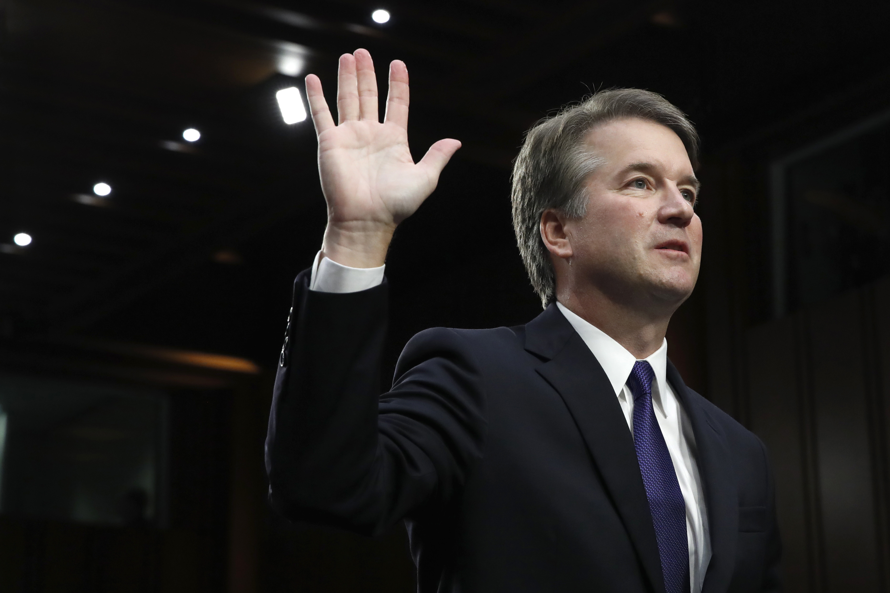 Brett Kavanaugh swearing in