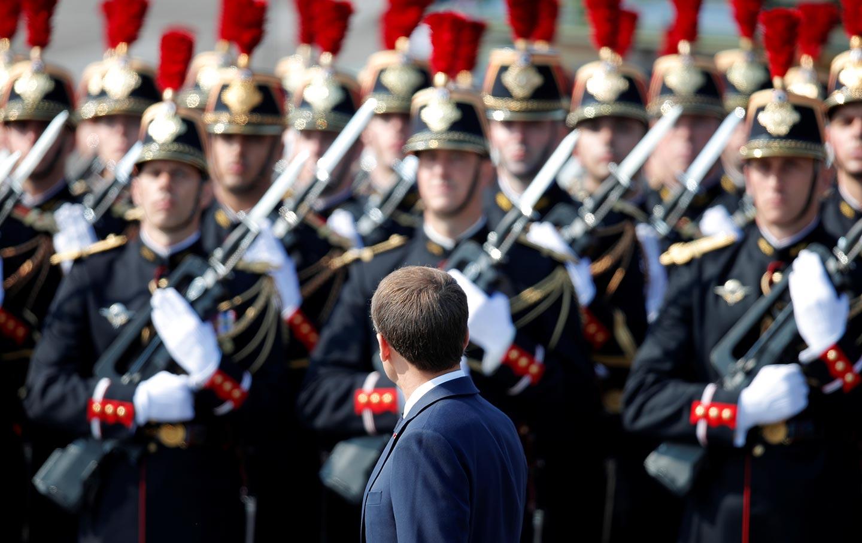 Macron Bastille Day
