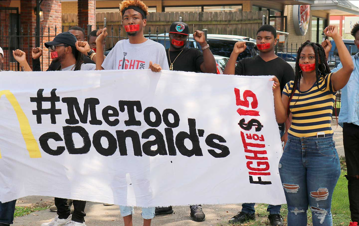 thenation.com - McDonald's Workers Walk Out Over Sexual Harassment