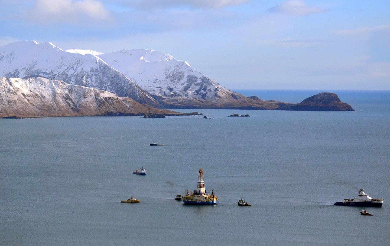 Shell Alaska rig