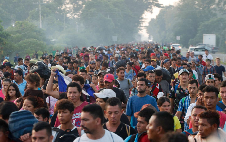 Central Americans seeking asylum status
