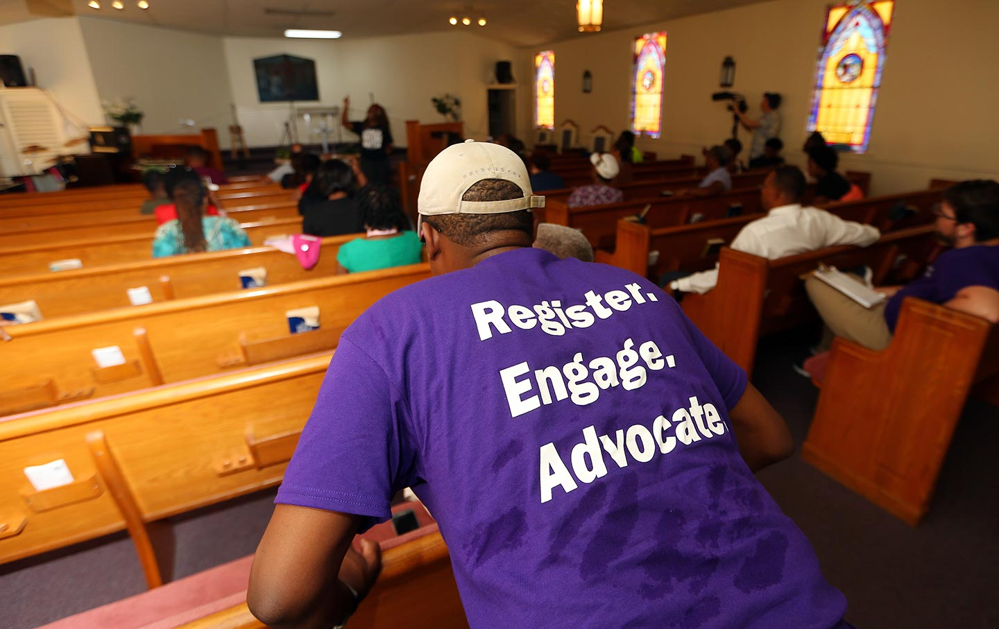 Black church voters