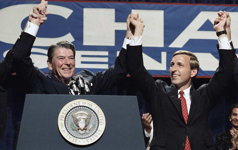 Ed Zschau Reagan