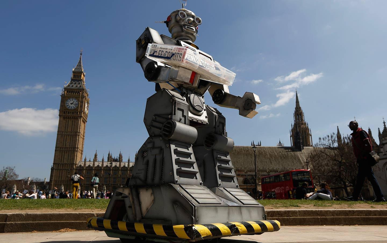 Protest Against Killer Robots
