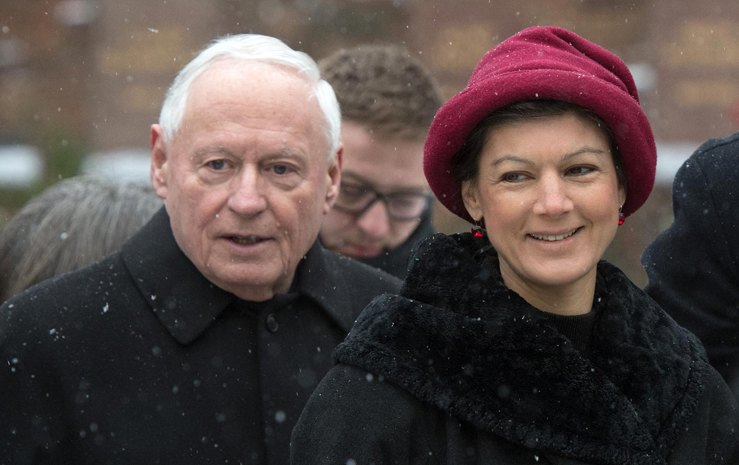 Oskar Lafontaine and Sahra Wagenknecht