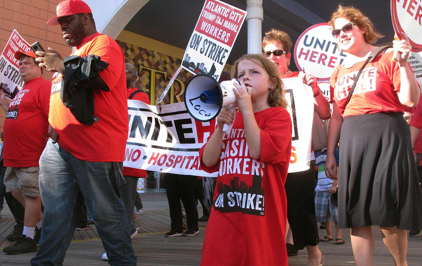 Unite Here Strike
