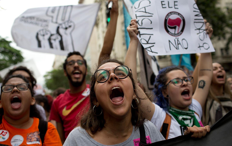Bolsonaro University Protest